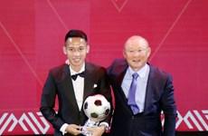 Dô Hung Dung remporte le Ballon d'Or du Vietnam 2019