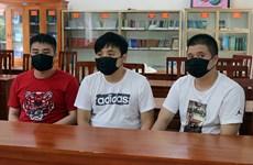 Quang Ninh : Un groupe chinois est arrêté pour l'entrée illicite