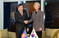 La République de Corée et l'ASEAN discutent de leur coopération