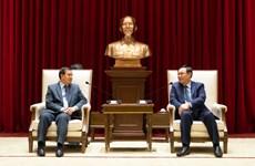 Hanoï s'engage à renforcer les liens spéciaux Vietnam-Laos