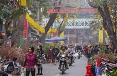 Escapade dans le marché aux fleurs traditionnel du Vieux quartier de Hanoï
