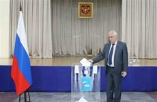 Des citoyens russes au Vietnam votent au référendum sur les amendements constitutionnels