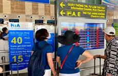 L'aéroport international de Noi Bai supprime les annonces par haut-parleurs