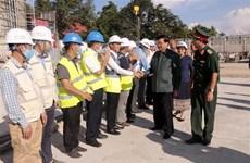 Le progrès des travaux du nouveau siège de l'Assemblée nationale laotienne est assuré