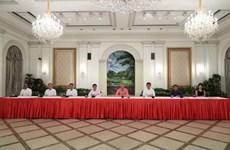 Singapour : Le Premier ministre Lee Hsien Loong annonce le nouveau cabinet
