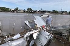 Ca Mau : Une centaine de maisons endommagées par des pluies torrentielles
