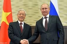 La Russie salue le rôle du Vietnam au sein des organisations régionales et internationales