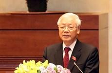 Le secrétaire général Nguyen Phu Trong demande de bien préparer le XIIIe Congrès national du Parti