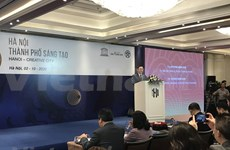 Consultation sur l'initiative « Hanoï – ville créative »