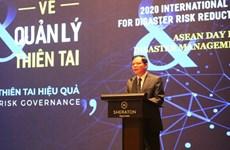 Célébration de la Journée internationale pour la réduction des risques de catastrophes à Hanoï