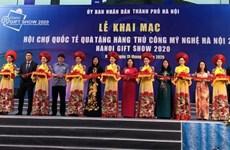 Ouverture de la foire Hanoi Gift Show 2020