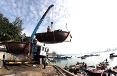Des localités au Centre se préparent à l'arrivée du typhon Molave