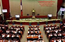 Laos : Ouverture de la 10e session de l'Assemblée nationale