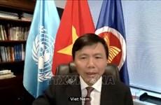 ONU : le Vietnam appelle à promouvoir  le rôle des organes juridiques internationaux
