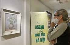 Exposition de peinture « ASEAN et automne à Hanoï »