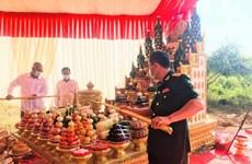 Mise en chantier d'un monument de l'amitié Vietnam-Cambodge