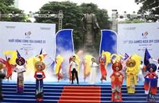 Cérémonie de lancement des SEA Games 31 à Hanoï