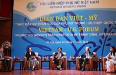 Vietnam - États-Unis: Promotion de la participation des femmes à l'intégration internationale