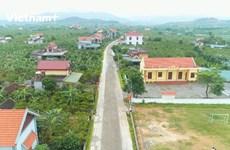 Quang Ninh: l'édification de la nouvelle ruralité, mission accomplie avant terme
