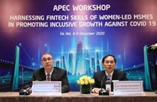 L'APEC encourage la reprise des MPMEs appartenant à des femmes