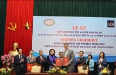 BAD: 5 millions de dollars aux PME appartenant à des femmes au Vietnam