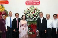 Vœux de Noël aux catholiques à Hô Chi Minh-Ville, à Hanoï et à Cân Tho