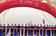Ouverture au trafic de deux ponts importants à Hanoï et Ho Chi Minh-Ville