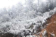 Les provinces montagneuses du Nord se parent de leur manteau blanc