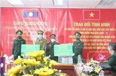 COVID-19 : Quang Binh et Khammoun (Laos) intensifient la coopération dans la gestion des frontières