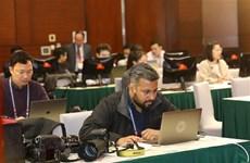 La couverture en ligne du 13e Congrès est une excellente opportunité pour les reporters étrangers.