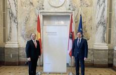 Le Vietnam et l'Autriche intensifie la coopération multiforme