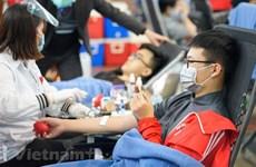 Don de sang : Ouverture de la Fête du printemps rouge 2021