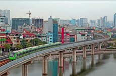 Hanoï : la ligne ferroviaire Cat Linh-Ha Dong sera  officiellement exploitée à partir du 30 avril