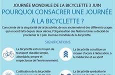 JOURNÉE MONDIALE DE LA BICYCLETTE 3 JUIN