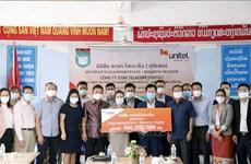 Laos : Star Telecom (Unitel) aide l'école bilingue Nguyen Du à améliorer sa qualité
