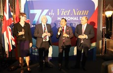 Célébration des 76 ans de la Fête nationale du Vietnam au Royaume-Uni