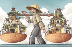 Résultats du concours d'illustration de la ville créative de Hanoï