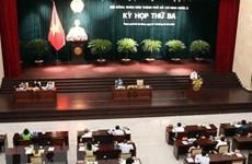 Ouverture de la 3e réunion du Conseil populaire de Ho Chi Minh-Ville du mandat 2021-2026
