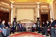 HCM-Ville demande au Land de Saxe (Allemagne) d'investir dans la formation profestionnelle