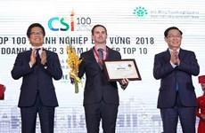 Entreprise la plus durable: Heineken Vietnam honorée pour la deuxième année consécutive