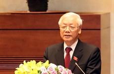 Ouverture du 9e Plénum du Comité central du Parti communiste du Vietnam (XIIe mandat)