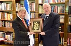 Israël attache beaucoup d'importance au développement des relations avec le Vietnam