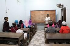 An Giang: Cham, cours de langue à la mosquée