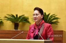 La présidente de l'AN demande au Bureau parlementaire d'améliorer le travail législatif