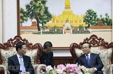 Les responsables laotiens apprécient la coopération Vietnam-Laos en matière d'information