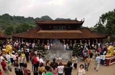 1,5 million de touristes à la fête de la Pagode des Parfums