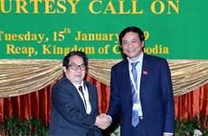 Des législateurs vietnamiens et cambodgiens partagent leurs expériences
