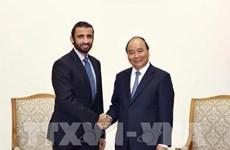 Le PM Nguyen Xuan Phuc reçoit le directeur général du groupe d'investissement de Dubai