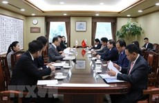 Le Vietnam et la R. de Corée renforcent leur coopération dans le domaine judiciaire