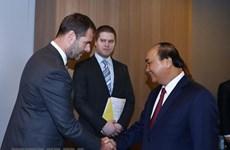 Le PM Nguyen Xuan Phuc reçoit le président de la société tchèque Home Credit